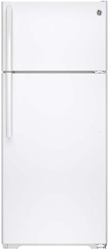 GE Appliances Top-Freezer Refrigerators ENERGY STAR® 17.5 Cu. Ft. Top-Freezer Refrigerator with Built-In Ice Maker