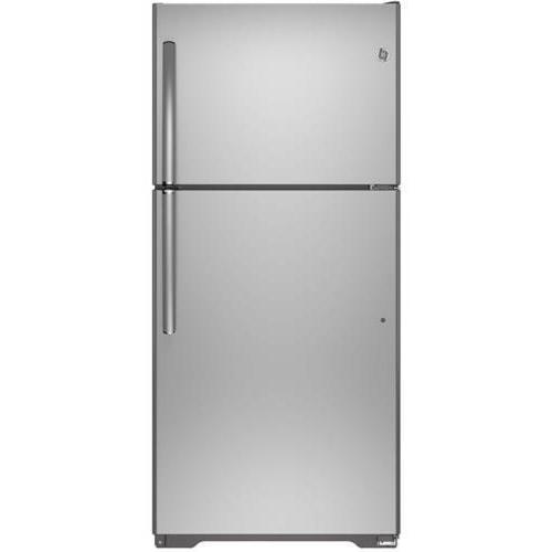 GE Appliances Top-Freezer Refrigerators ENERGY STAR® 18.2 Cu. Ft. Top-Freezer Refrigerator with Built-In Ice Maker