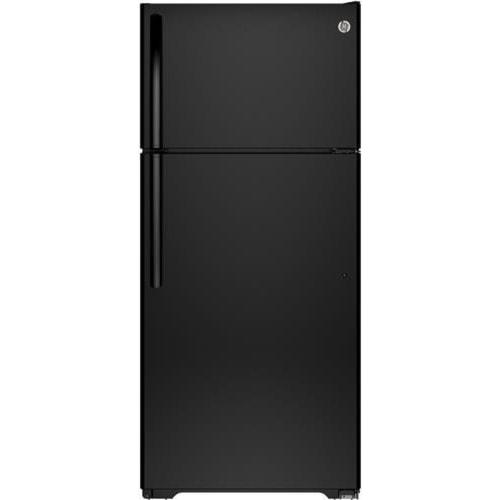 GE Appliances Top-Freezer Refrigerators ENERGY STAR® 15.5 Cu. Ft. Top-Freezer Refrigerator with Spillproof Glass Shelves