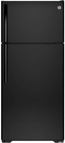 GE Appliances Top-Freezer Refrigerators ENERGY STAR® 15.5 Cu. Ft. Top-Freezer Refrigerator with Spillproof Glass Shelves