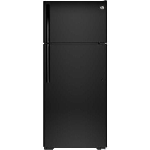 GE Appliances Top-Freezer Refrigerators ENERGY STAR® 17.5 Cu. Ft. Top-Freezer Refrigerator with Spillproof Glass Shelves