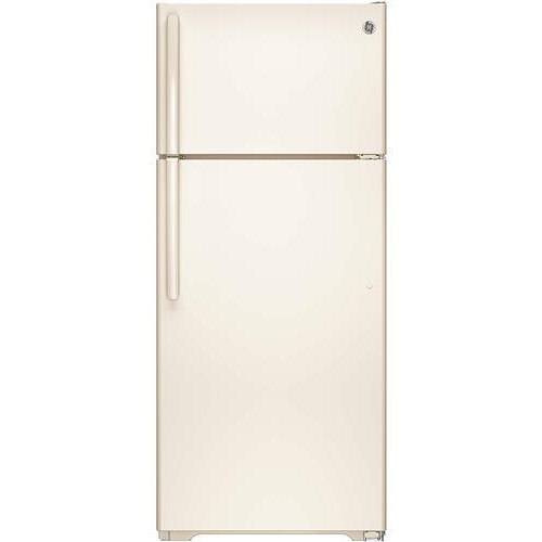 GE Appliances Top-Freezer Refrigerators ENERGY STAR® 17.5 Cu. Ft. Top-Freezer Refrigerator with Spillproof Glass Shelves