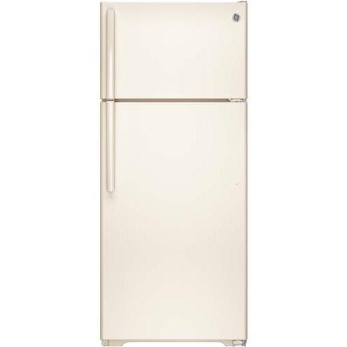 GE Appliances Top-Freezer Refrigerators ENERGY STAR® 17.5 Cu. Ft. Top-Freezer Refrigerator with Built-In Ice Maker