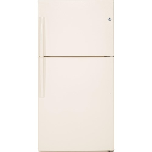 GE Appliances Top-Freezer Refrigerators  ENERGY STAR® 21.2 Cu. Ft. Top-Freezer Refrigerator with Adjustable Spillproof Glass Shelves