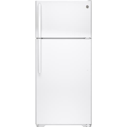 GE Appliances Top-Freezer Refrigerators 15.5 Cu. Ft. Top-Freezer Refrigerator