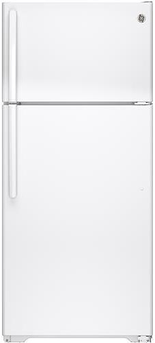 GE Appliances Top-Freezer Refrigerators 15.5 Cu. Ft. Top-Freezer Refrigerator