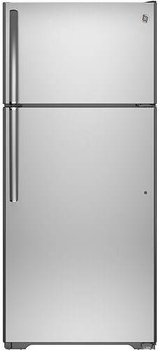 GE Appliances Top-Freezer Refrigerators ENERGY STAR® 15.5 Cu. Ft. Top-Freezer with Ice Maker