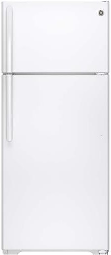 GE Appliances Top-Freezer Refrigerators 17.5 Cu. Ft. Top-Freezer Refrigerator
