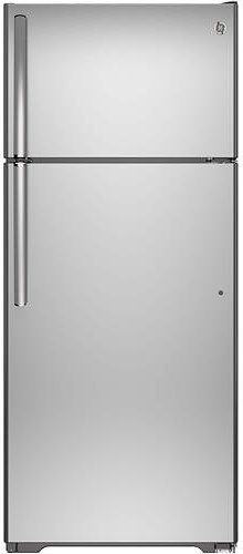 GE Appliances Top-Freezer Refrigerators ENERGY STAR® 17.5 Cu. Ft. Top-Freezer Refrigerator