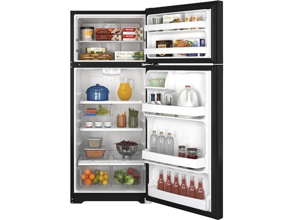 GE Appliances Top-Freezer Refrigerators17.5 Cu. Ft. Top-Freezer Refrigerator