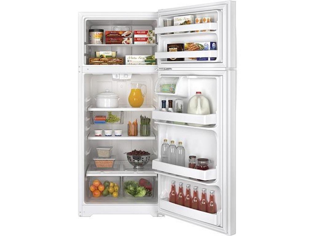 GE Appliances Top-Freezer Refrigerators17.5 Cu. Ft. Top-Freezer Refrigerator