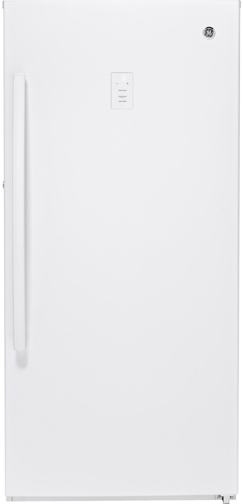 GE Appliances Upright Freezer 14.1 Cu. Ft. Frost-Free Upright Freezer