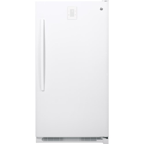 GE Appliances Upright Freezer 16.6 Cu. Ft. Frost-Free Upright Freezer