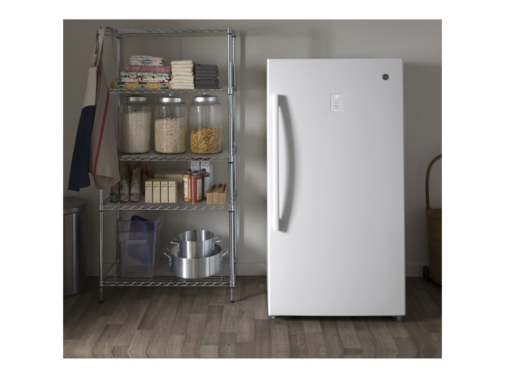 GE Appliances Upright Freezer17.3 Cu. Ft. Frost-Free Upright Freezer