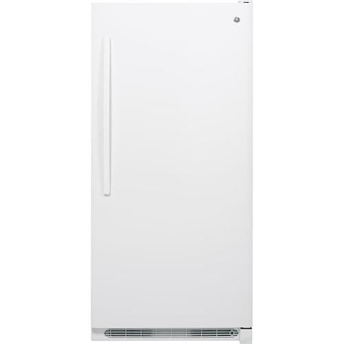 GE Appliances Upright Freezer 20.9 Cu. Ft. Manual Defrost Upright Freezer