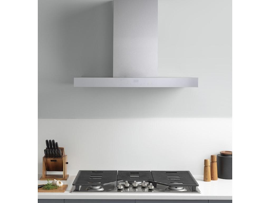 "GE Appliances Ventilation Hoods36"" Smart Designer Wall Mount Hood"
