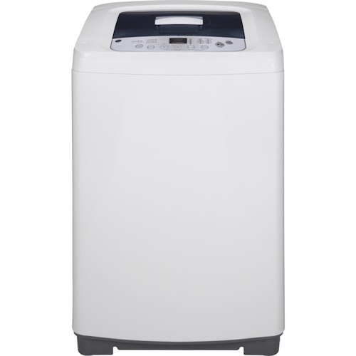 GE Appliances Washers  2.6 Cu. Ft. Space-Saving Stationary Washer with Stainless Steel Basket