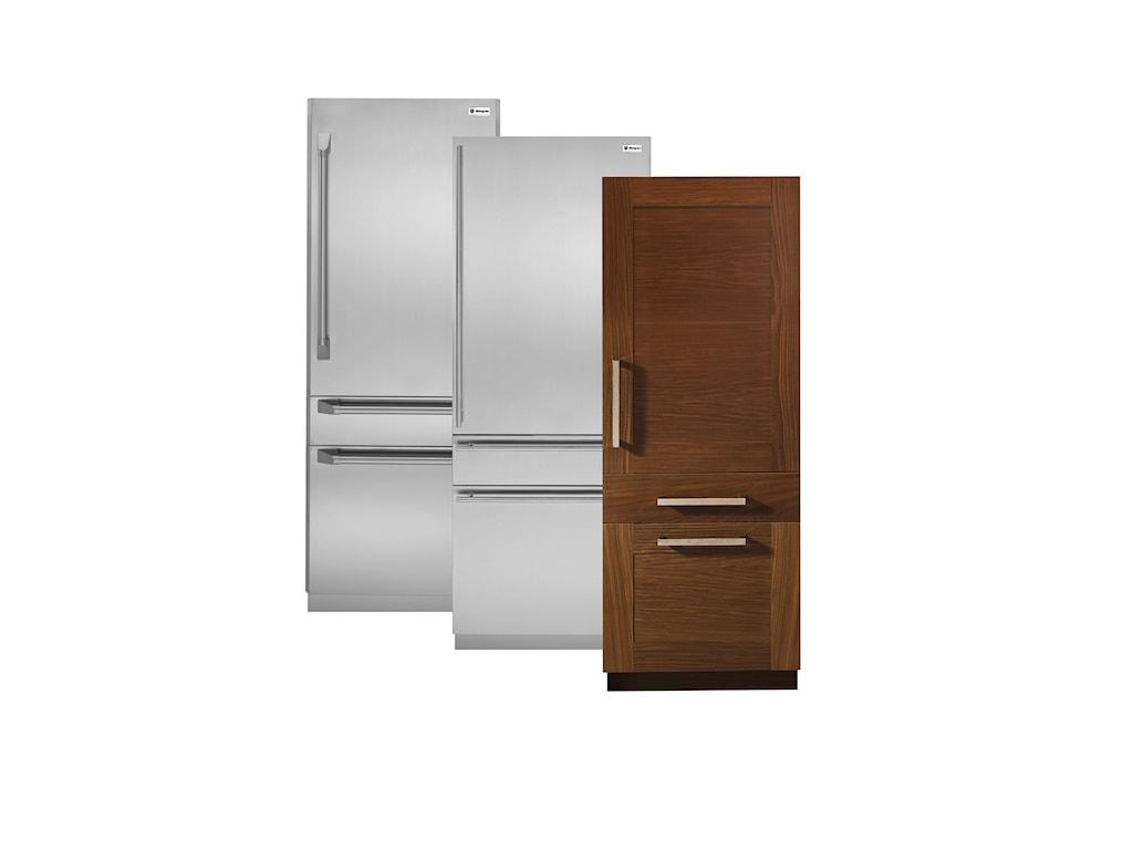 GE Monogram Bottom-Freezer Refrigerators14.09 cu ft. 30