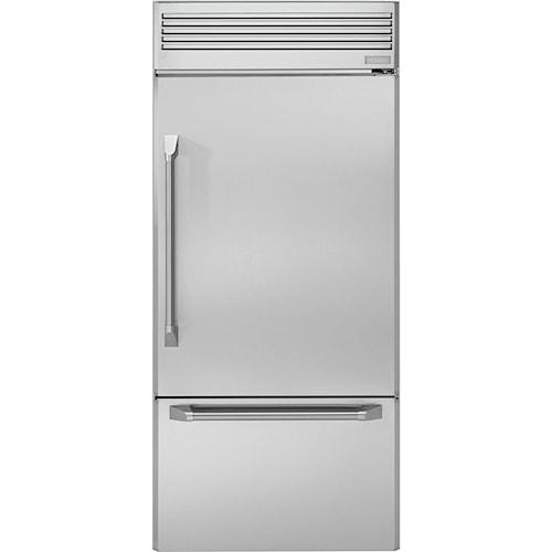 GE Monogram Bottom-Freezer Refrigerators ENERGY STAR® 21.33 cu. ft. 36