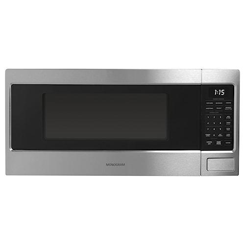 GE Monogram Microwaves 1.1 Cu. Ft. Countertop Microwave Oven with Sensor Cooking