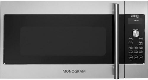 GE Monogram Microwaves 1.7 cu. ft. Advantium® Over-the-Range Microwave Oven with True European Convection