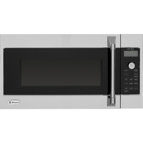 GE Monogram Microwaves 1.7 Cu. Ft. 120 Volt Built-In Above-the-Cooktop Advantium® Speedcooking Microwave with Professional Stainless Steel Design