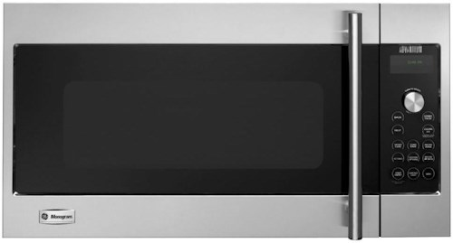 GE Monogram Microwaves 1.7 Cu. Ft.  240 Volt Built-In Above-the-Cooktop Advantium® Speedcooking Microwave with European Stainless Steel Design