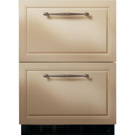 "24"" Built-In Double-Drawer Refrigerator"