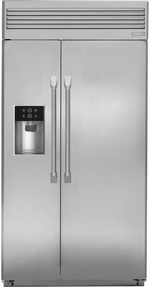 GE Monogram Side-by-Side Refrigerators 42