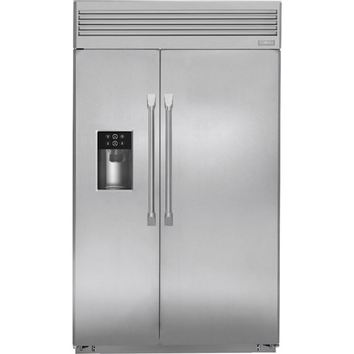 GE Monogram Side-by-Side Refrigerators 48