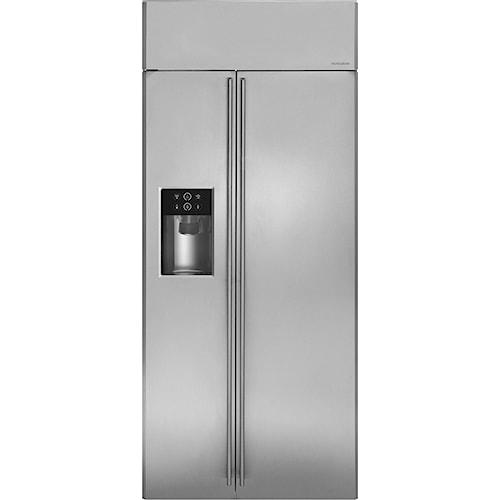 GE Monogram Side-by-Side Refrigerators 36