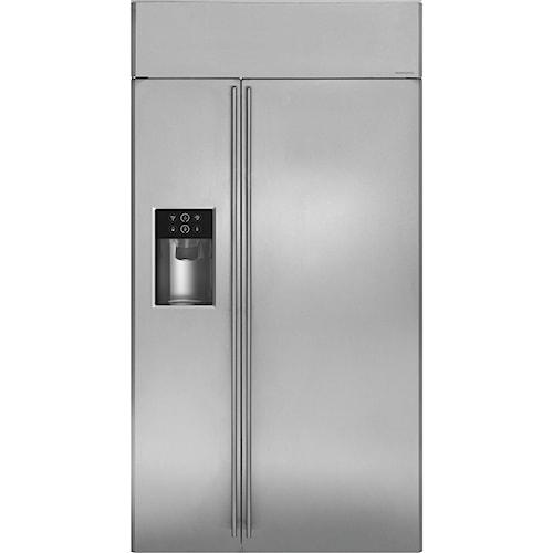 GE Monogram Side-by-Side Refrigerators 42