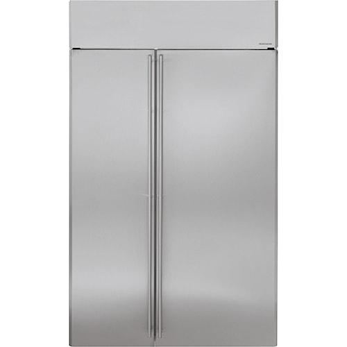 GE Monogram Side-by-Side Refrigerators 48