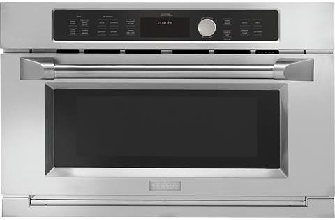 GE Monogram Wall Ovens 1.6 cu. ft. Built-In Oven with Auto Defrost and Microwave Sensor Cook