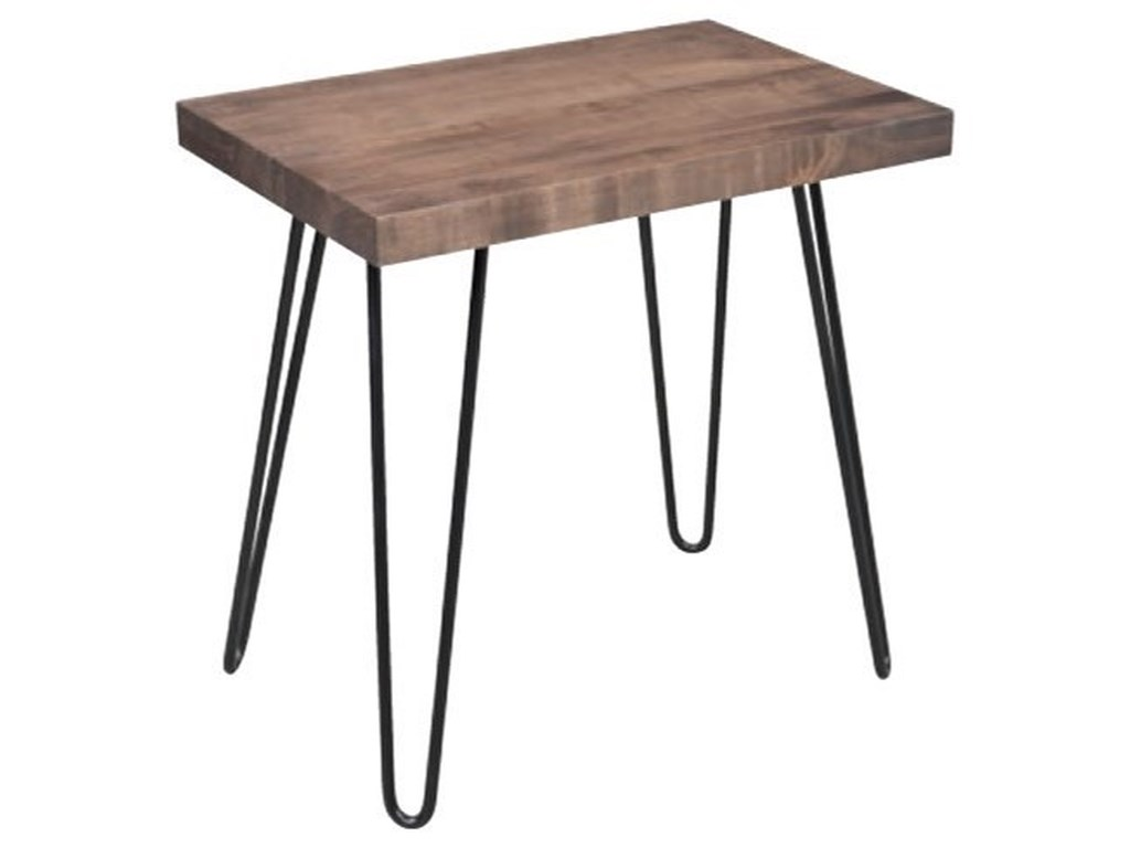 Amish Workbench DoverChairside Table