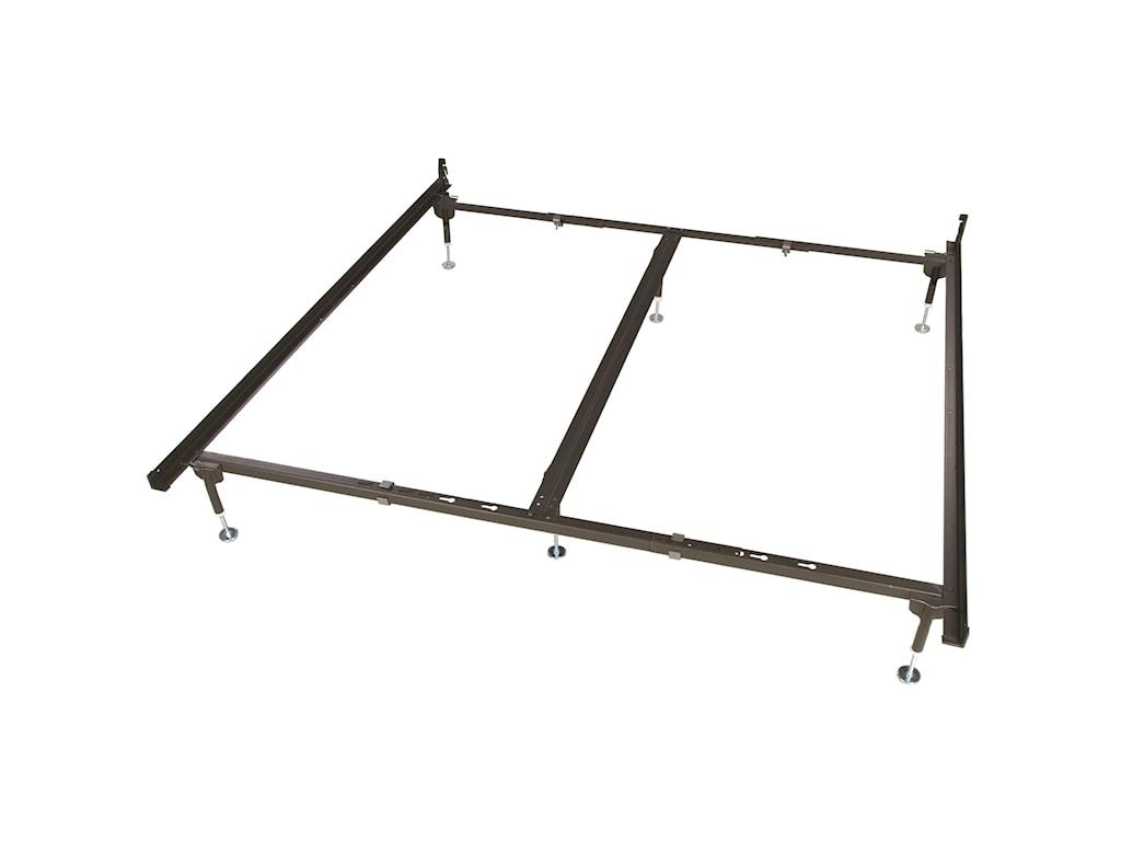 Glideaway Deluxe Hook In FramesQn/King/CK Bed Frame for Hook-In Headboard