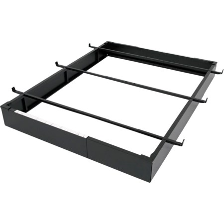 Black Adjustable Full to King Bed Base