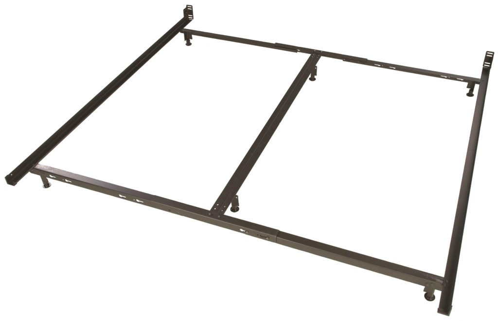 glideaway low profile bed frames lb44 6 leg king low profile bed
