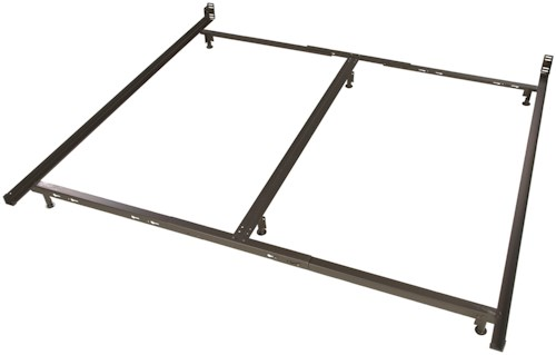 Glideaway Low Profile Bed Frames 6 Leg Cal King Low Profile Bed Frame With Glides