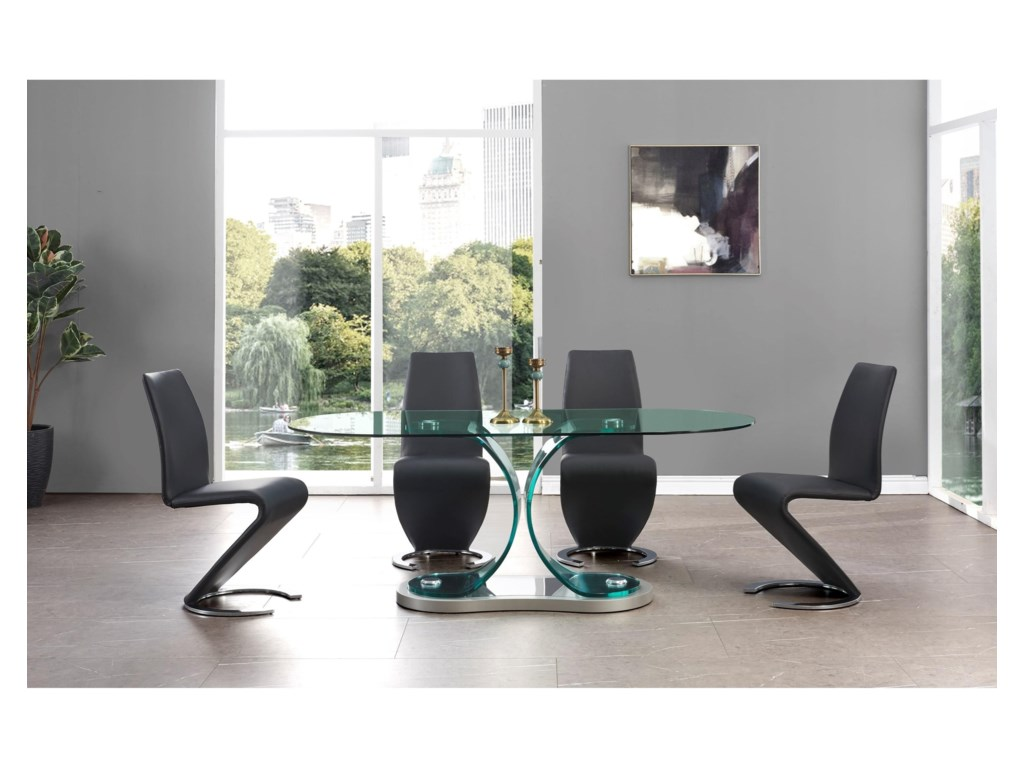 Global Furniture 1713Dining Table