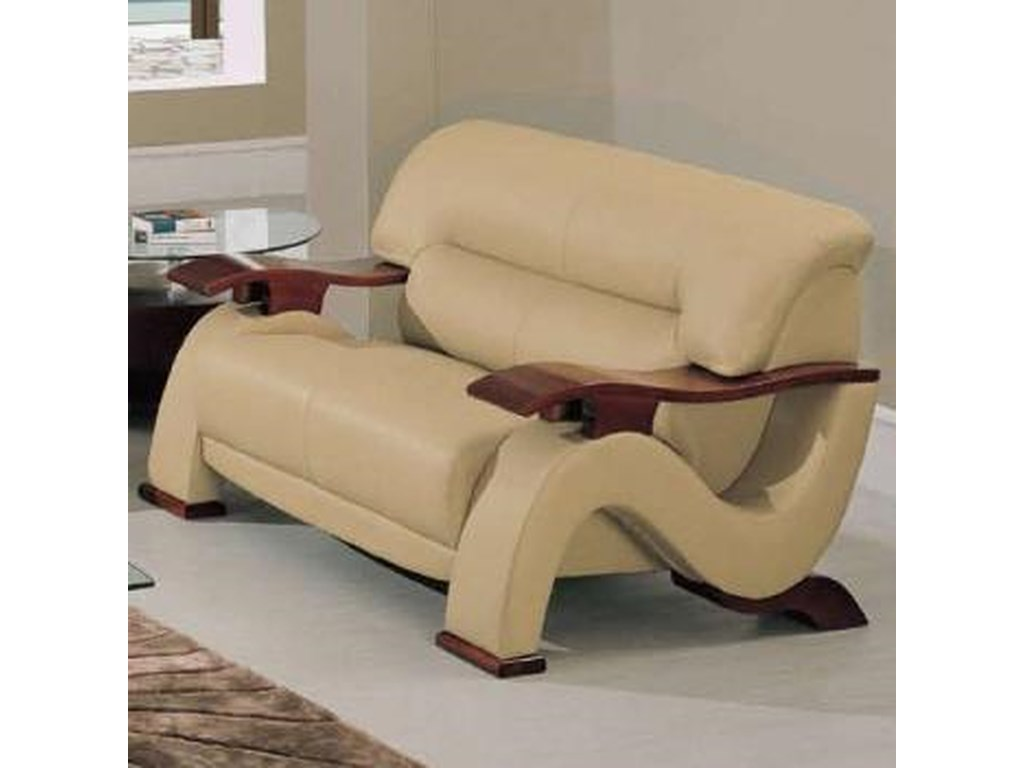 Global Furniture 2033Contemporary Love Seat