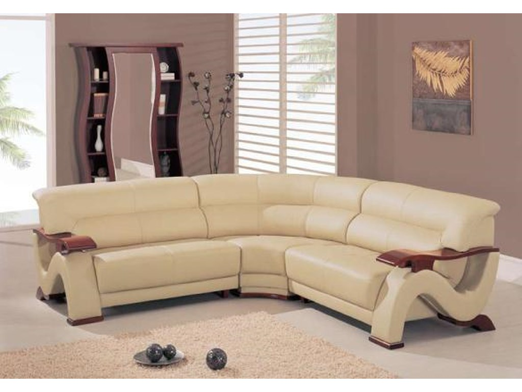 Global Furniture 2033Contemporary Sectional