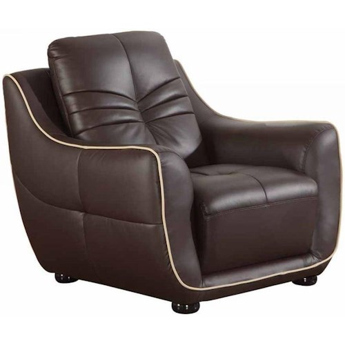 Global Furniture 2088 2088- Brown Chair