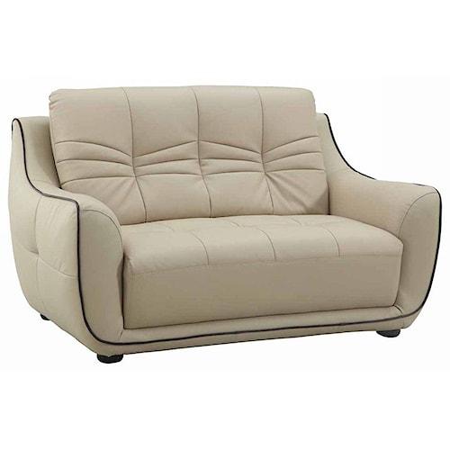 Global Furniture 2088 2088- Beige Loveseat