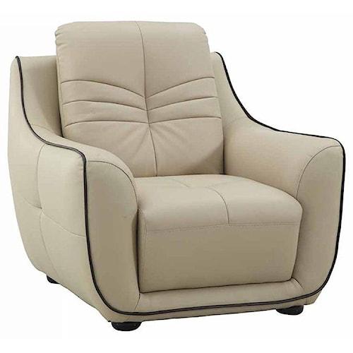 Global Furniture 2088 2088- Beige Chair