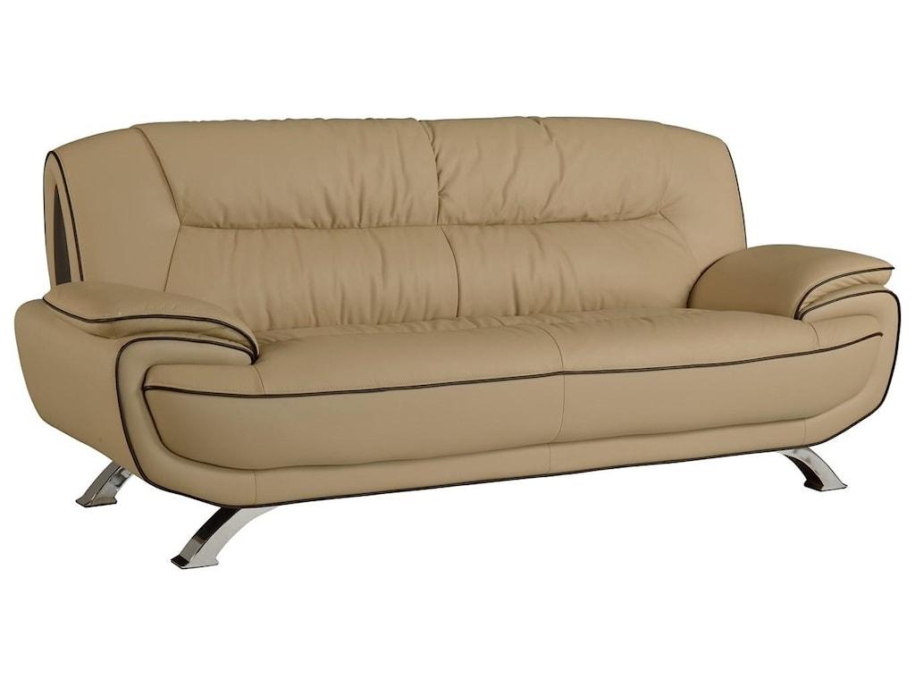 Global Furniture 405Beige Sofa