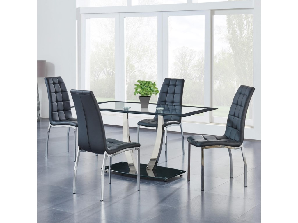 Global Furniture 7165-Piece Dining Set