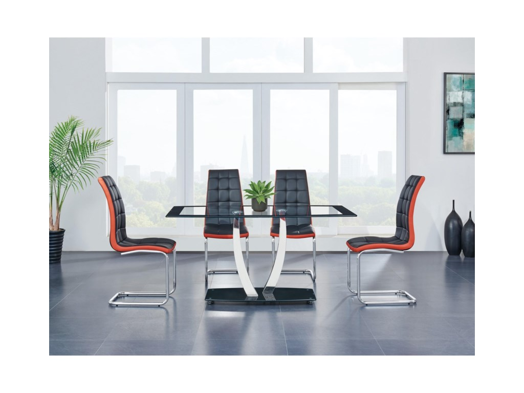Global Furniture 716Dining Table
