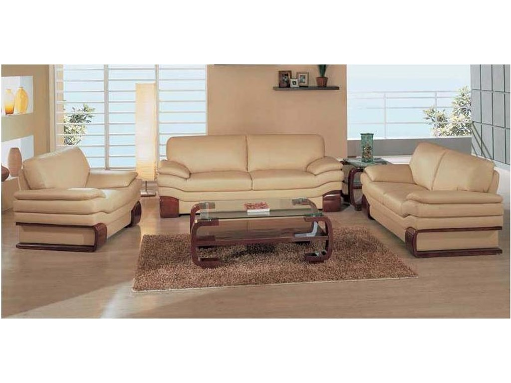 Global Furniture 728Loveseat