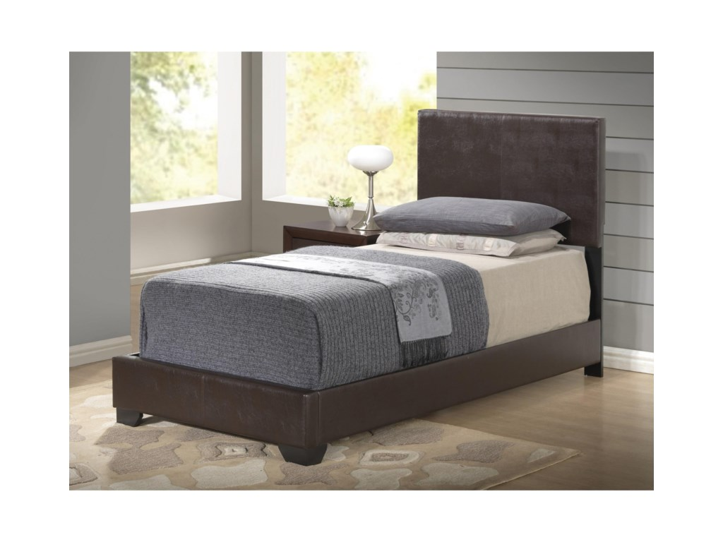 Global Furniture 8103Upholstered Twin Bed